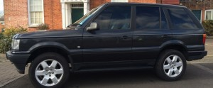 range rover p38 black slide