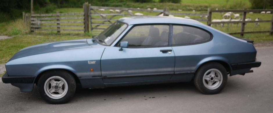 Ford Capri Laser Sold