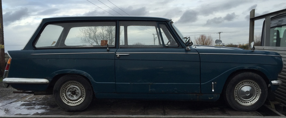 triumph herald estate