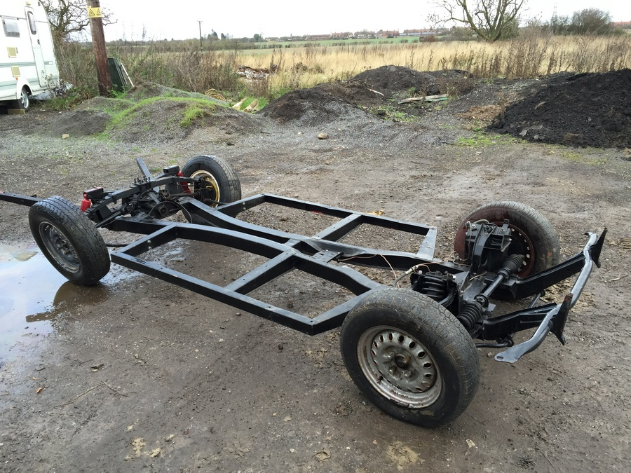 Triumph Herald Chassis Sold